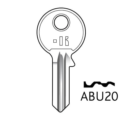 ABU32 Abus 5Pin Key Blank