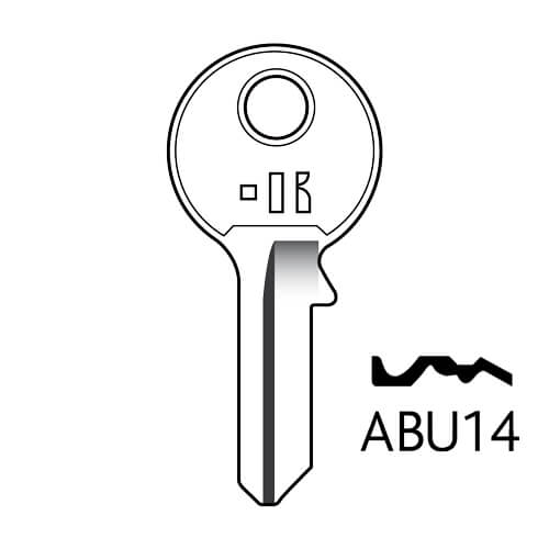 ABU34 Abus 5Pin Key Blank