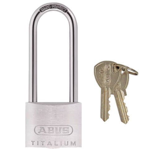 Abus 64TI Extra Long Shackle Titalium 40mm Padlock