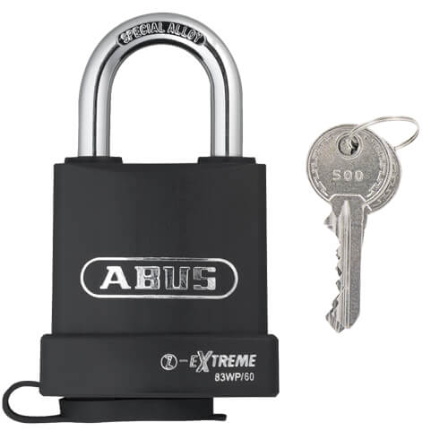 Abus Extreme 83 open shackle padlock 60mm
