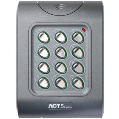ACT ACT5e Keypad with built in Proximity Reader