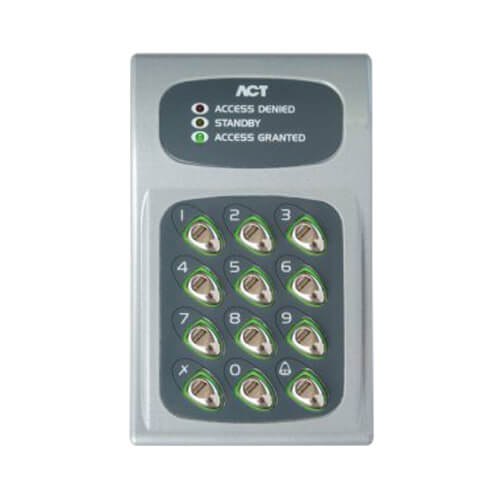 ACT10 Electronic Stand Alone Keypad