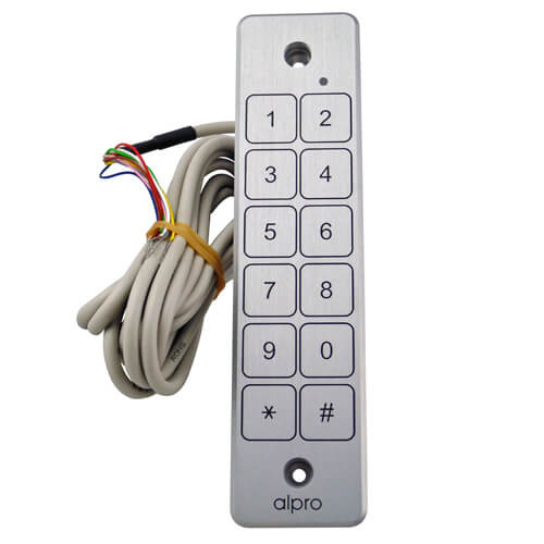 Alpro AS626 Weatherproof Touch Keypad