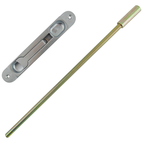 Alpro Flat Flushbolt with Rod
