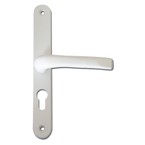 ASEC 117 Lever/Lever UPVC Furniture – 270mm Backplate