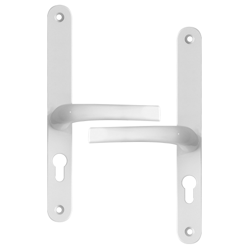 ASEC 48/87 Lever/Lever UPVC Furniture – 270mm Backplate