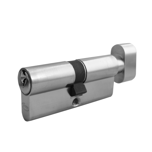 ASEC 5-Pin Euro Key & Turn Cylinder