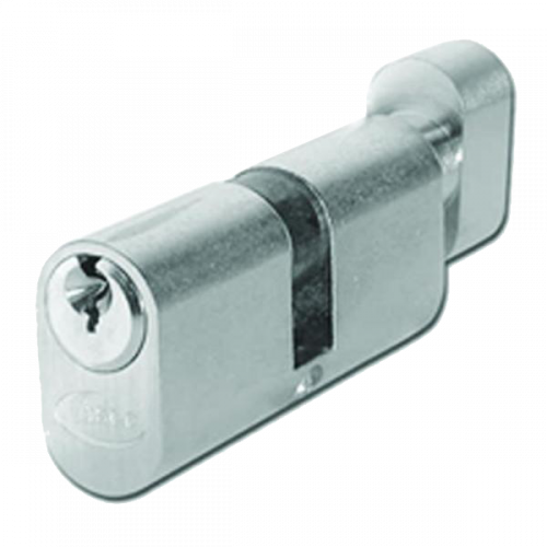 ASEC 5-Pin Oval Key & Turn Cylinder