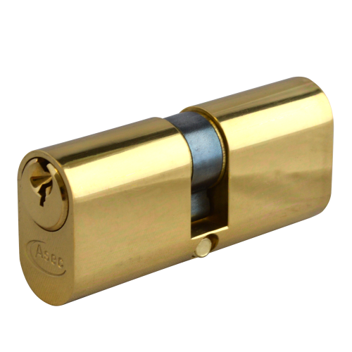 ASEC 6-Pin Oval Double Cylinder
