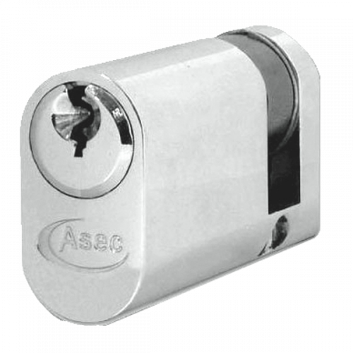 ASEC 6-Pin Oval Half Cylinder