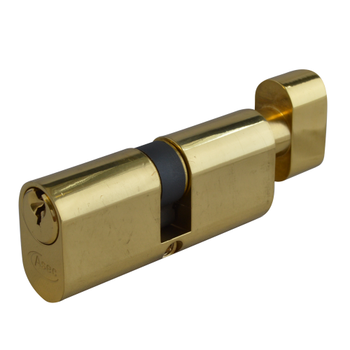 ASEC 6-Pin Oval Key & Turn Cylinder