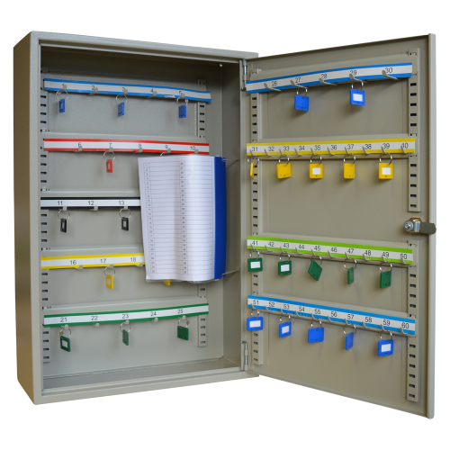 ASEC 60 Hook Cabinet for Keys & Key Bunches