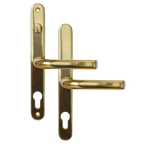 ASEC 68mm Lever UPVC Door Furniture With Snib