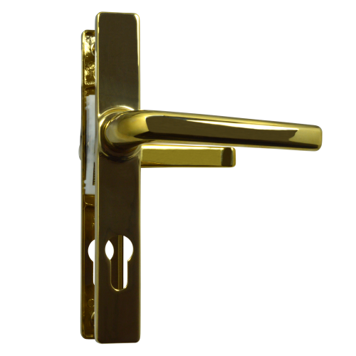 ASEC 70 Lever/Lever Door Furniture To Suit Ferco – 205mm Backplate