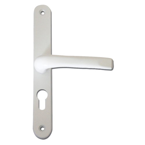 ASEC 70 Lever/Lever UPVC Furniture – 270mm Backplate