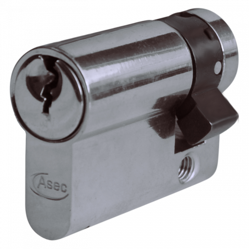Asec Euro Half Cylinder With Adjustable Cam – 6 Pin