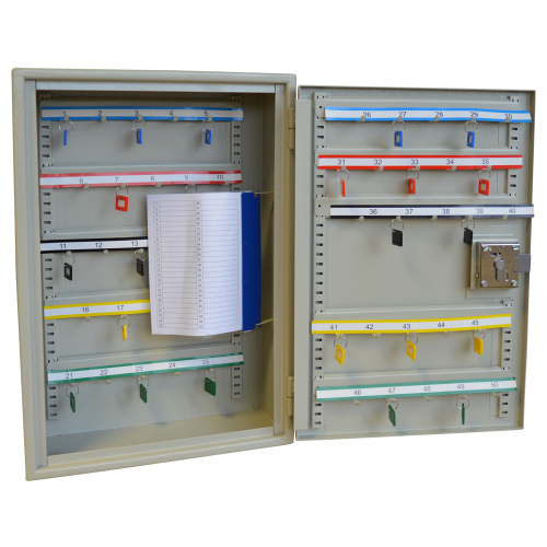ASEC Extra Security 50 Hook Cabinet for Padlocks or Key Bunches
