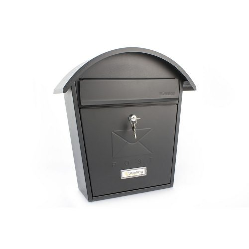 Burg-Wächter Classic 2 Post Box Black (5016567017240)