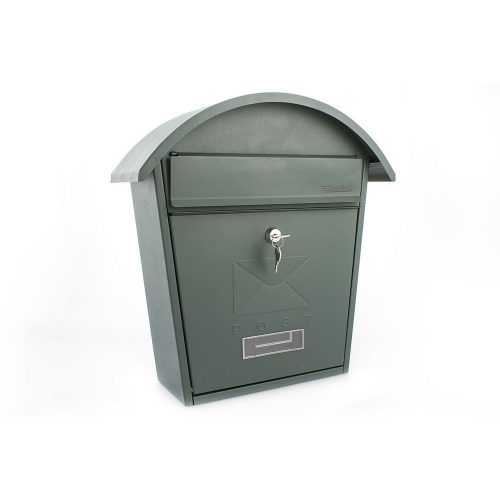 Burg-Wächter Classic 2 Post Box Green (5016567017257)