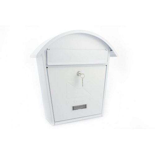 Burg-Wächter Classic 2 Post Box White (5016567017233)