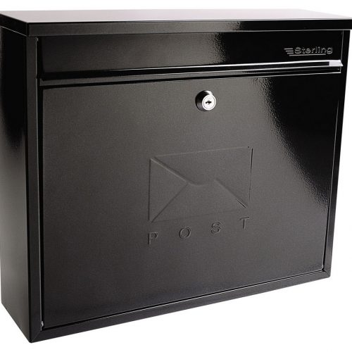 Burg-Wächter Elegance Post Box Black (5016567015307)