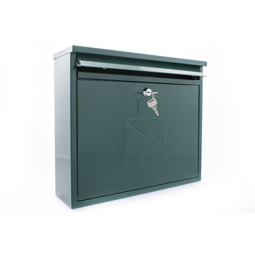 Burg-Wächter Elegance Post Box Green (5016567015581)