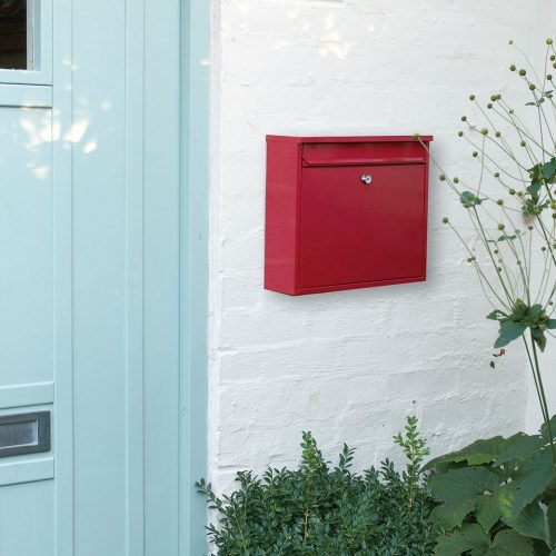 Burg-Wächter Elegance Post Box Red (5016567015574)