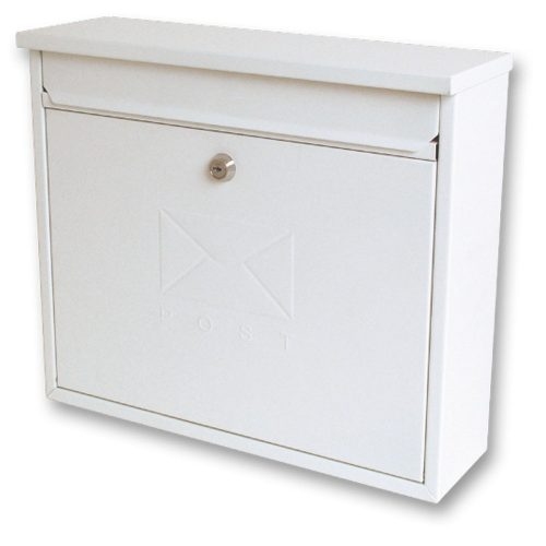 Burg-Wächter Elegance Post Box White (5016567015253)