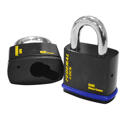 Federal Open Shackle Padlock Body to suit Euro Cylinders