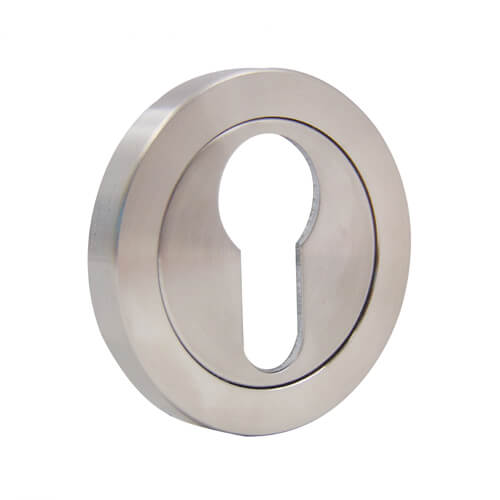 Fire Rated Euro Concealed Fix Escutcheon
