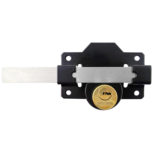 Gatemate Rim Gate Lock with Single or Double Cylinder