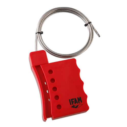 Ifam Safety Cable Lockout Hasp