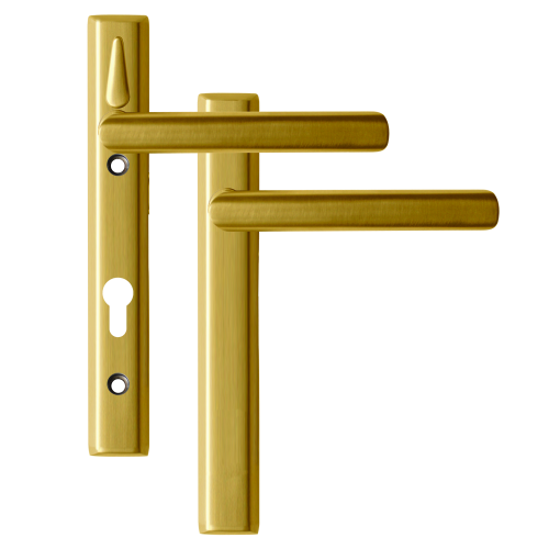 LOXTA Stealth Double Locking Lever Handle (Blank External) – 122mm 92PZ