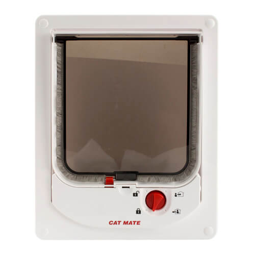 Petmate Electro Magnetic Cat Flap White