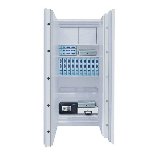 Rottner Fireproof Steel Office Cabinet Office 3 S2 Fire Premium Electronic Lock (T05650)
