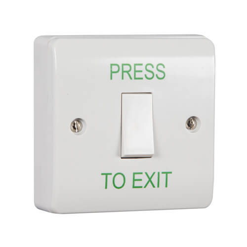 TSS Plastic Light Switch Style Exit Button