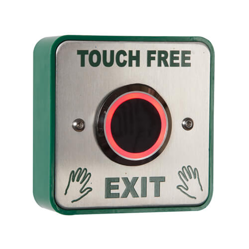 TSS Touch Free Infra Red Exit Switch Surface or Flush Mounted