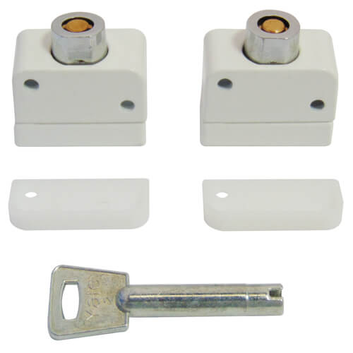 Yale 8K102M Wooden Window Locks WH (2+K) &...