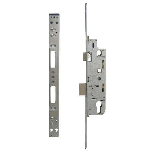 YALE Doormaster Lever Operated Latch & Deadbolt Single Spindle Overnight Lock To Suit GU